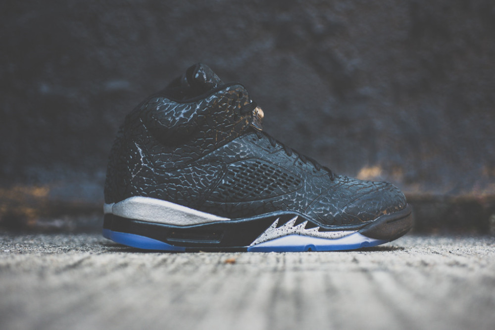 Air Jordan 3LAB5 Black Metallic Silver 1 1000x667