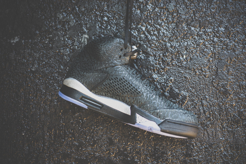 Air Jordan 3LAB5 Black Metallic Silver 3 1000x667