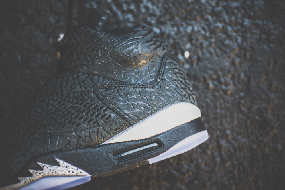Air Jordan 3LAB5 Black Metallic Silver 5 1000x667