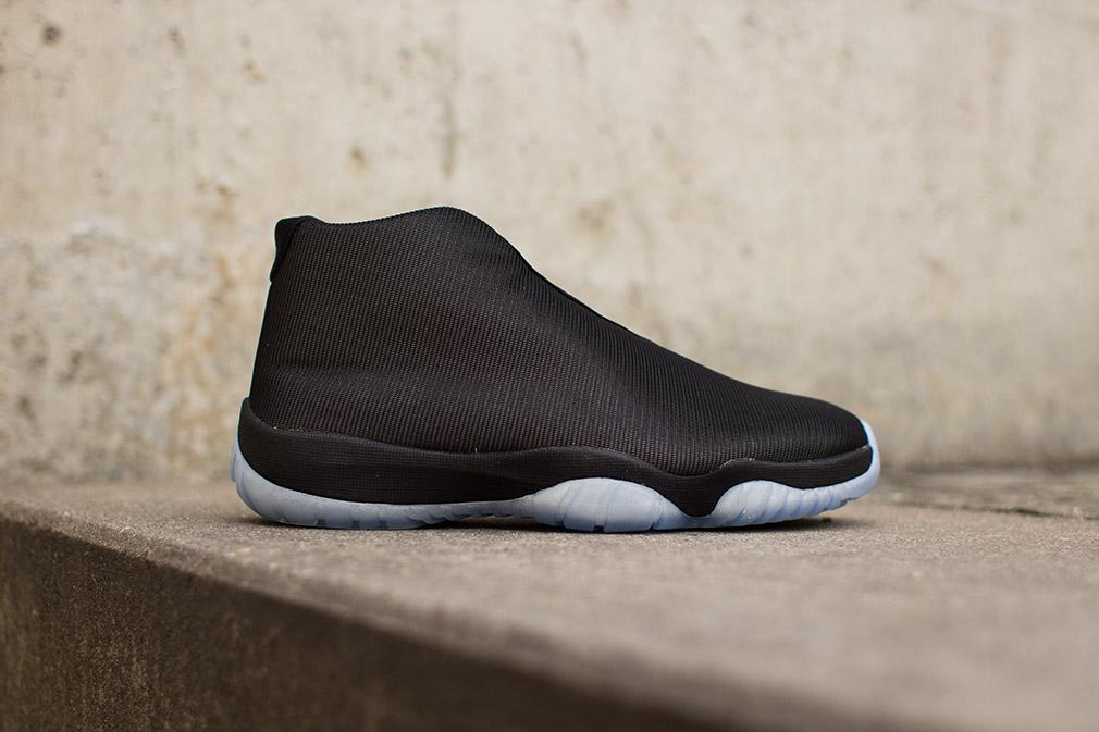 Air Jordan Future Black Clear 1