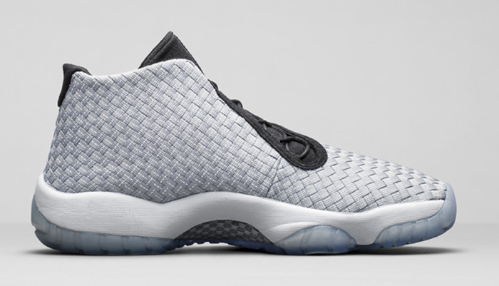 Air Jordan Future Premium Metallic Silver 4