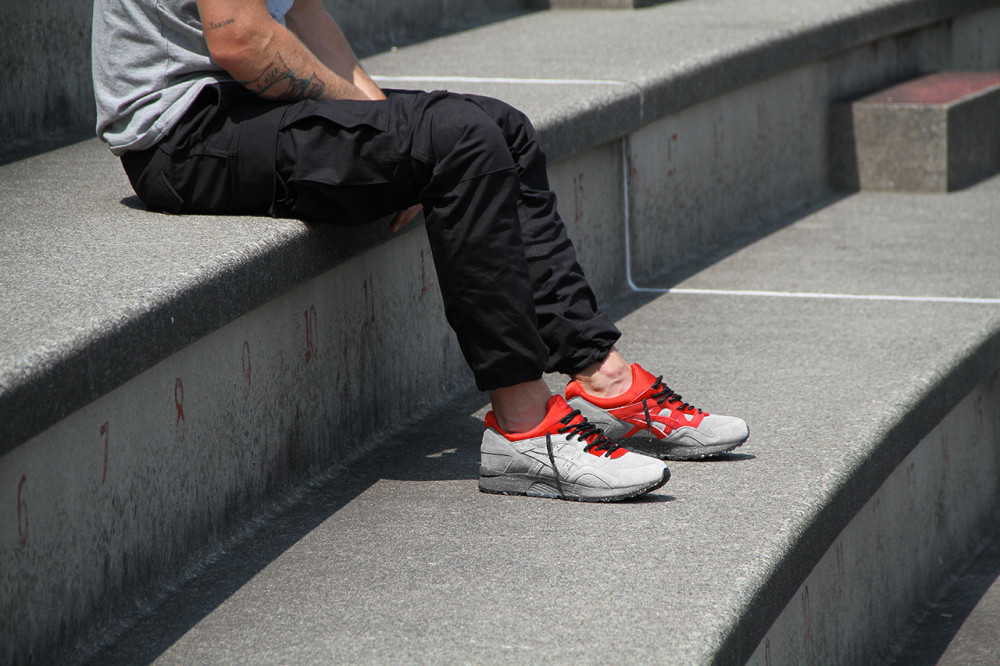 Concepts x ASICS Gel Lyte V Grey Red 1 1000x666