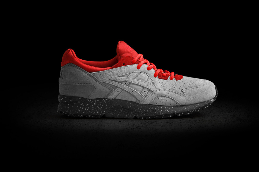Concepts x ASICS Gel Lyte V Grey Red 4 1000x666