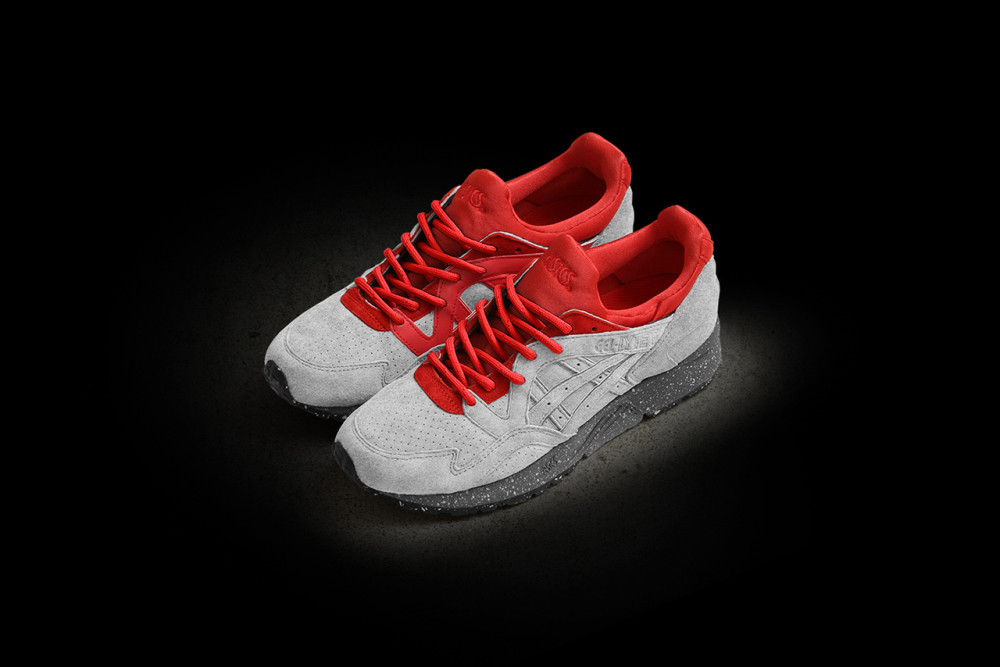 Concepts x ASICS Gel Lyte V Grey Red 5 1000x667