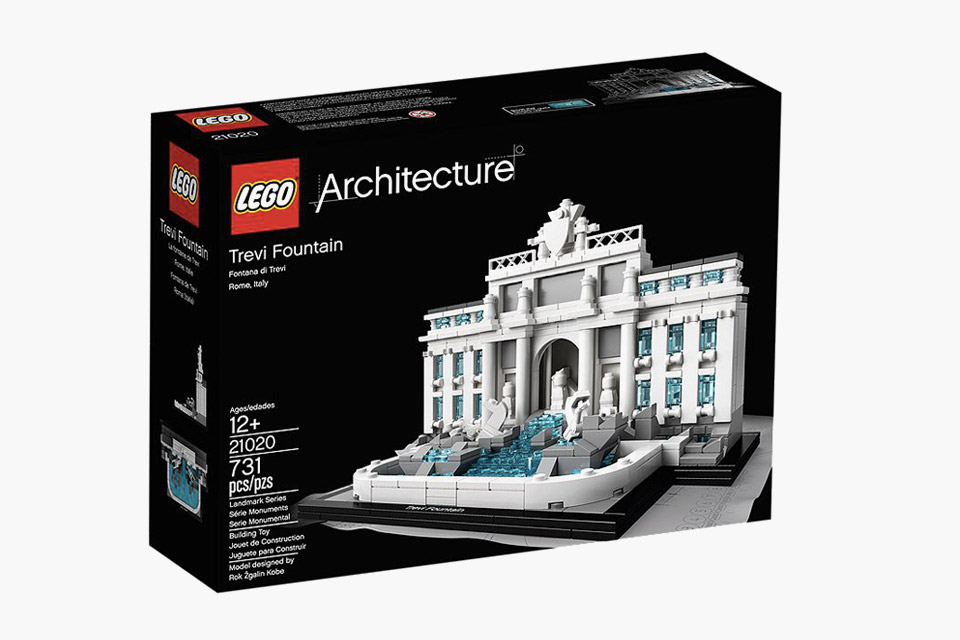 LEGO Architecture Trevi Brunnen 2