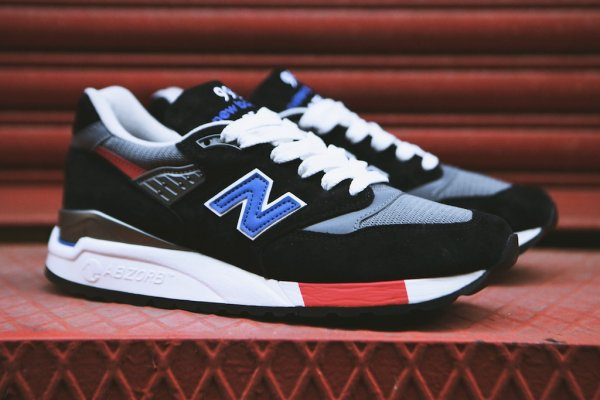 NEW BALANCE M998HL Black White 1