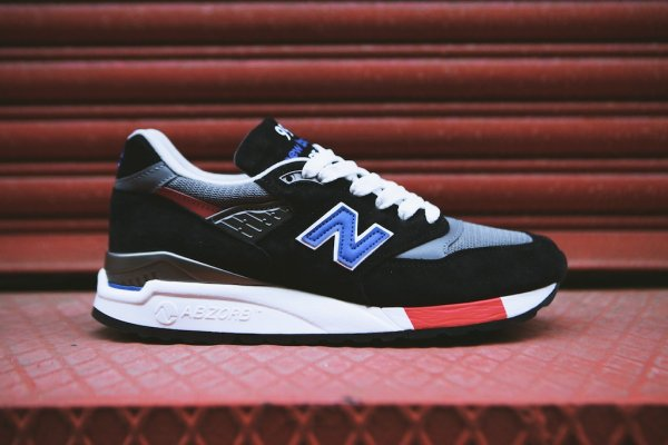 NEW BALANCE M998HL Black White 10