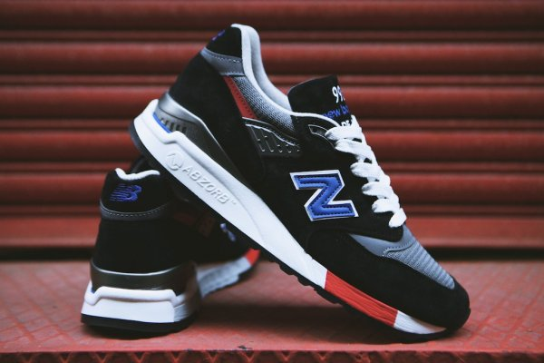 NEW BALANCE M998HL Black White 13
