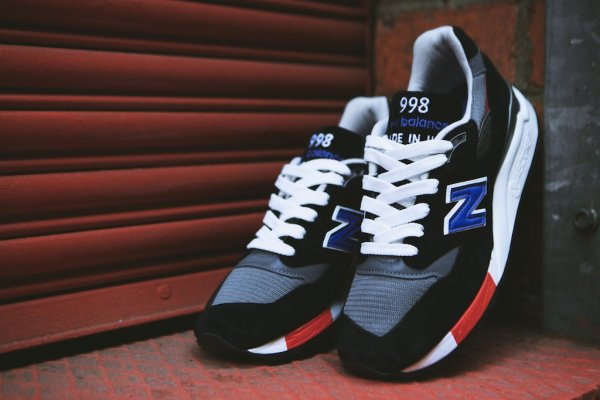 NEW BALANCE M998HL Black White 15