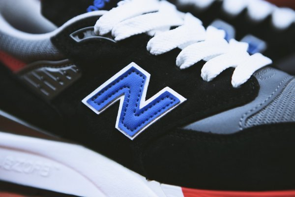 NEW BALANCE M998HL Black White 3