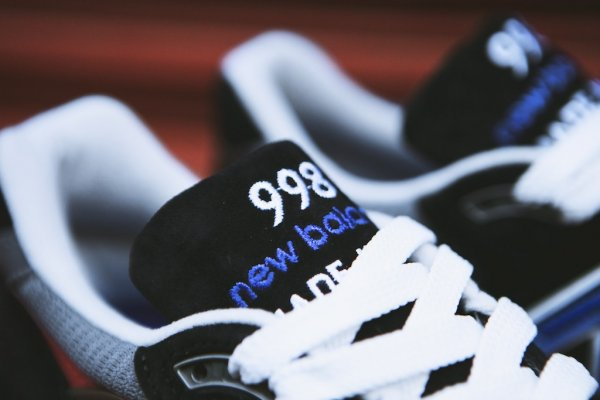NEW BALANCE M998HL Black White 4