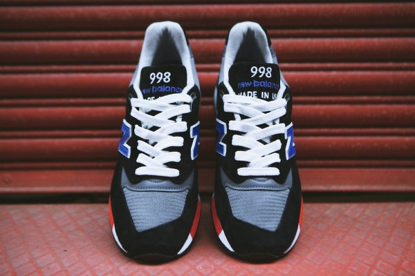 NEW BALANCE M998HL Black White 8