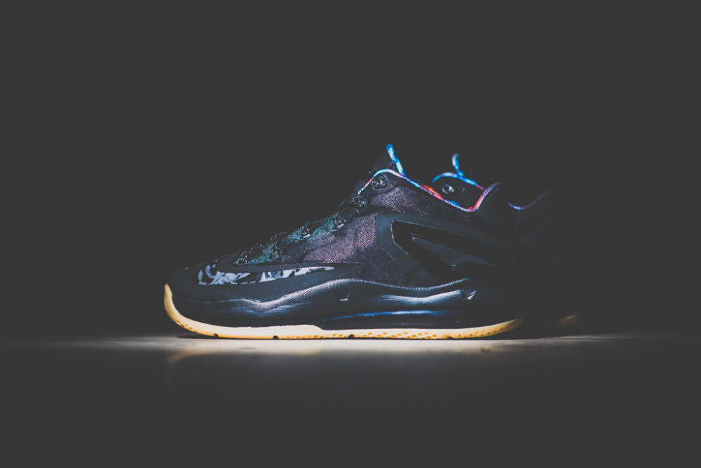 Nike Air Max LeBron XI Low Black Gum 2 1000x667