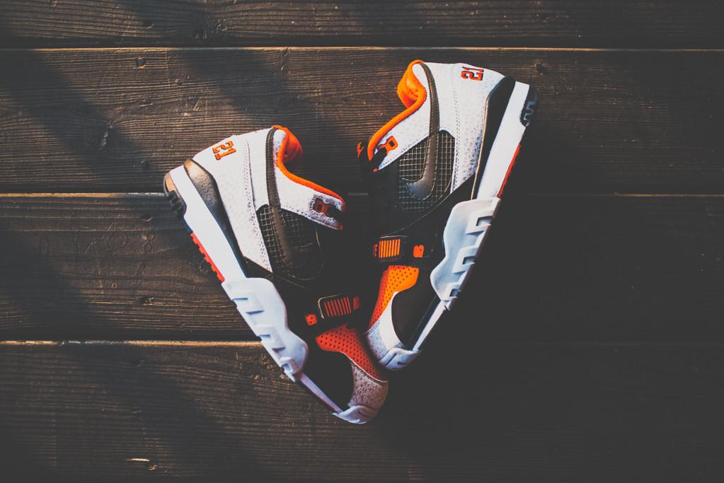 Nike Air Trainer 2 Premium Black Team Orange 1