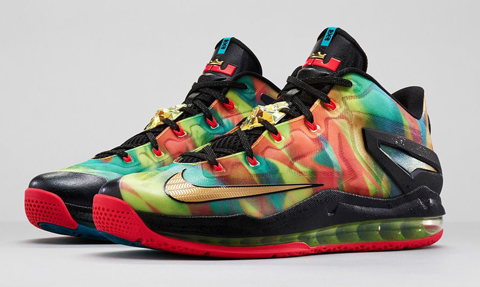 Nike LeBron 11 Low SE Multicolor 1