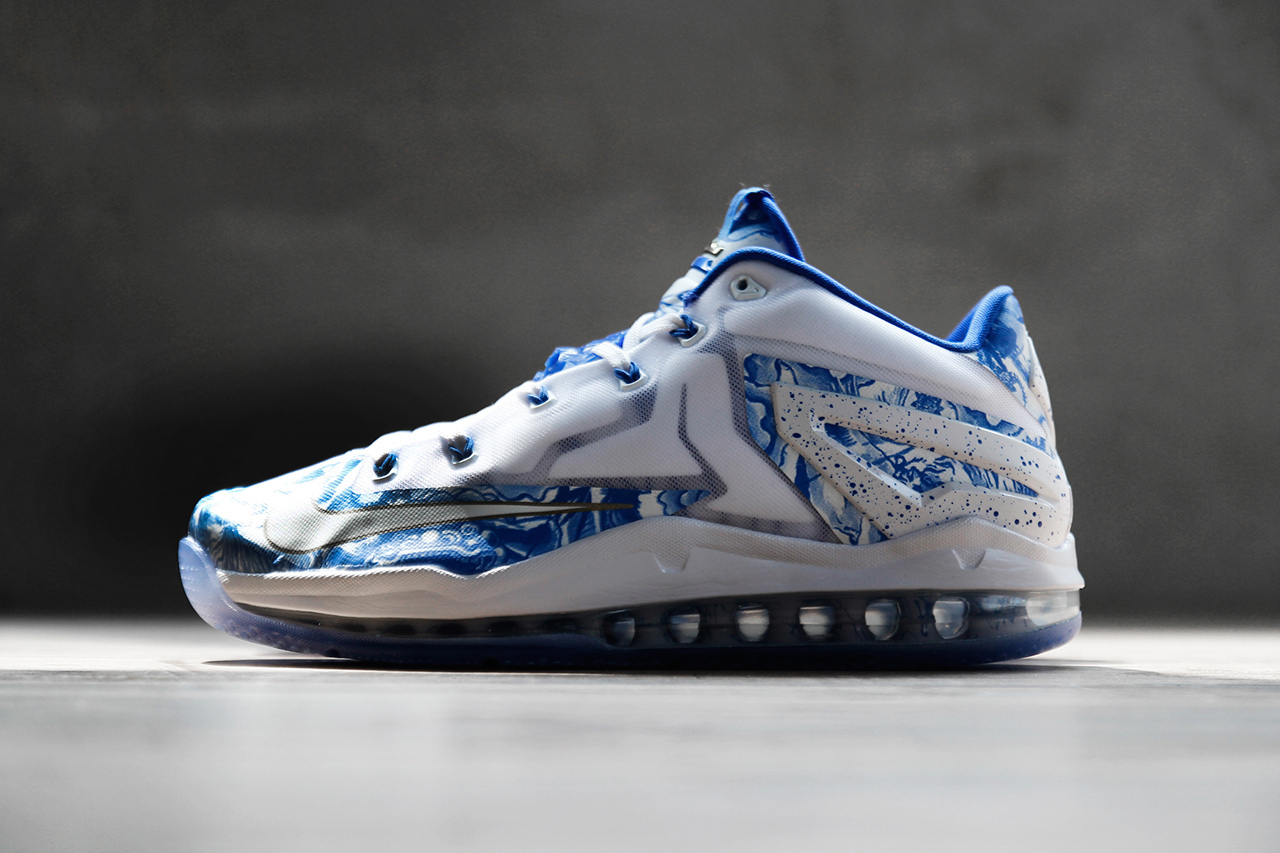 Nike LeBron 11 Max Low CH Pack Blue White 1