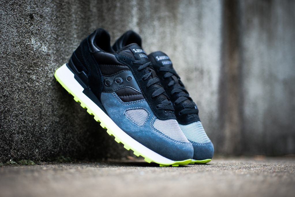 Saucony Shadow Original Black Grey 1