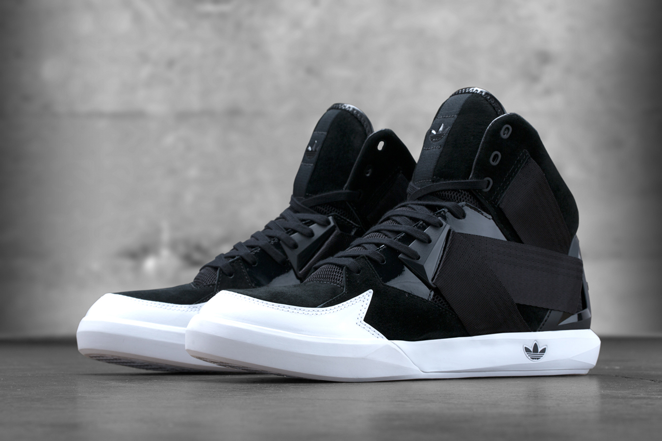 adidas Originals C 10 Black White 1