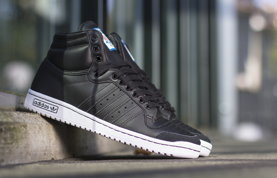 adidas Originals Top Ten Hi Black White 1
