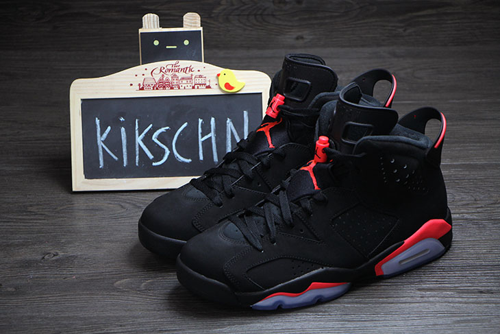 Air Jordan 6 Retro Black Infrared 5
