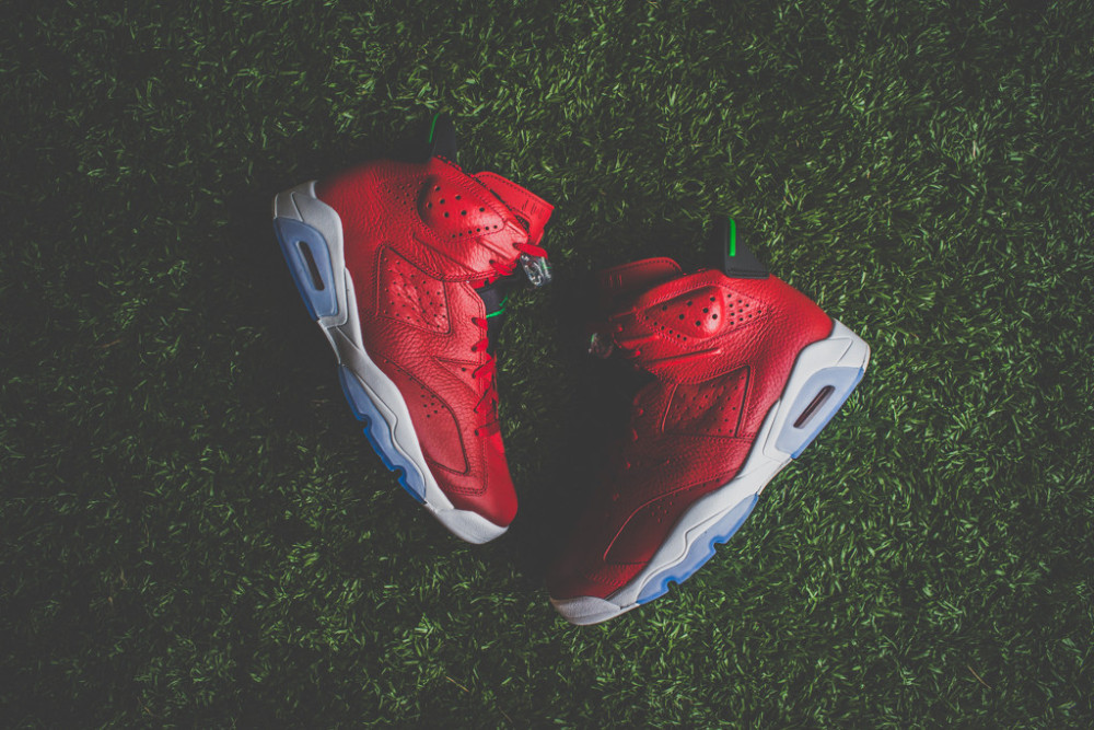 Air Jordan 6 Retro Varsity Red 10 1000x667