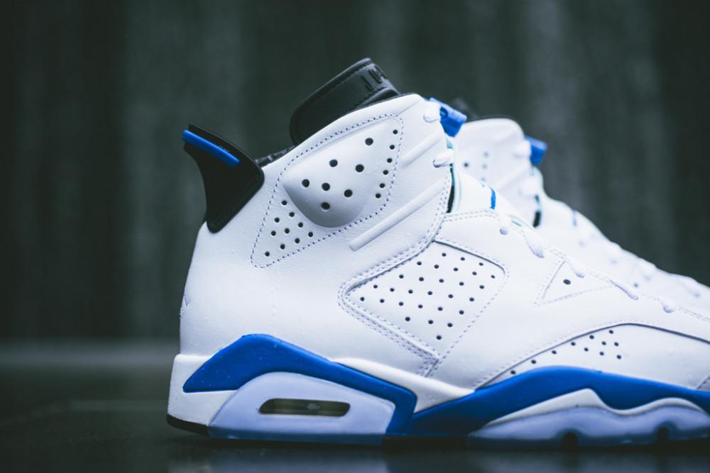 Air Jordan 6 Retro White Sport Blue 2 1000x667