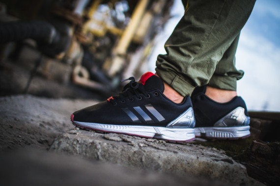 FACESLACES x adidas Originals ZX FLUX Teufelsberg 8