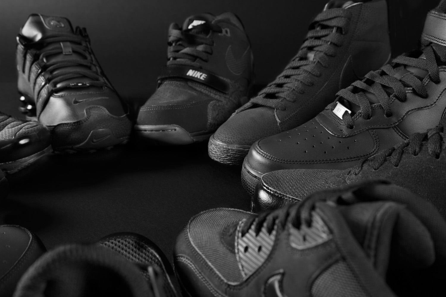 Foot Locker–Triple Black Collection 1