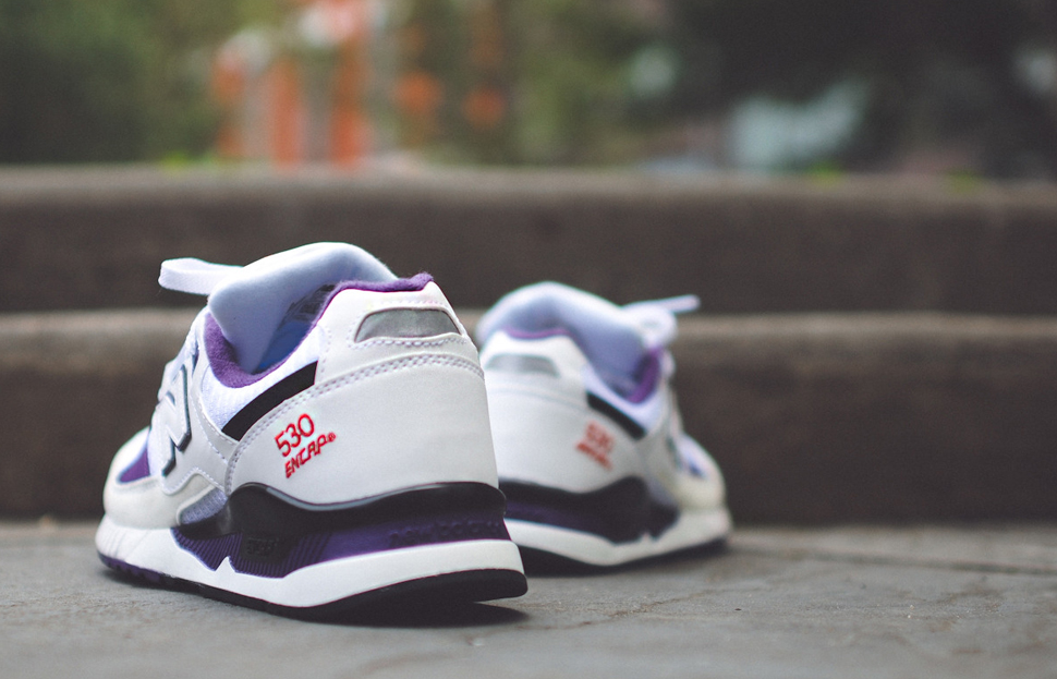 New Balance 530 OG White Grey Purple 5