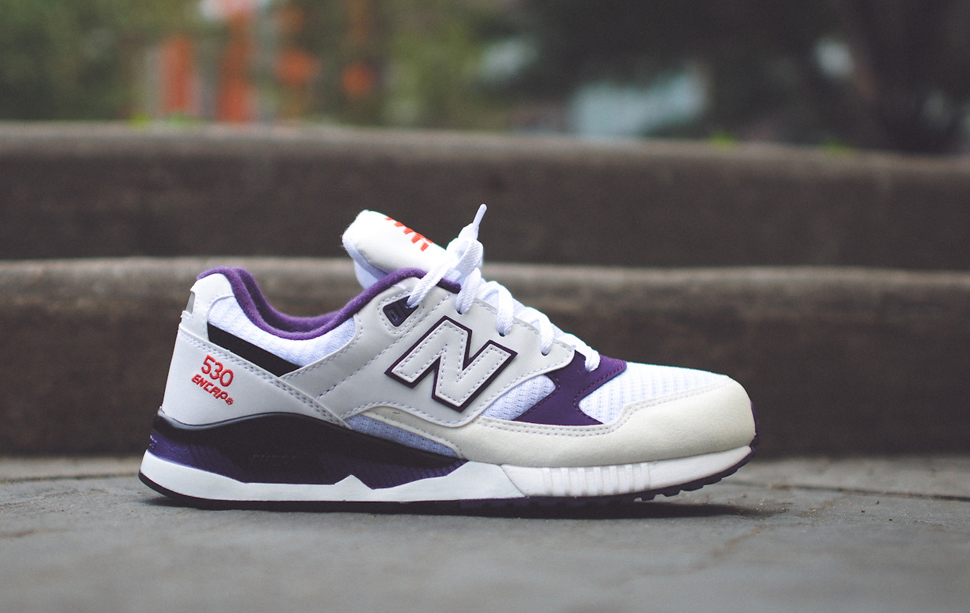 New Balance 530 OG White Grey Purple 8