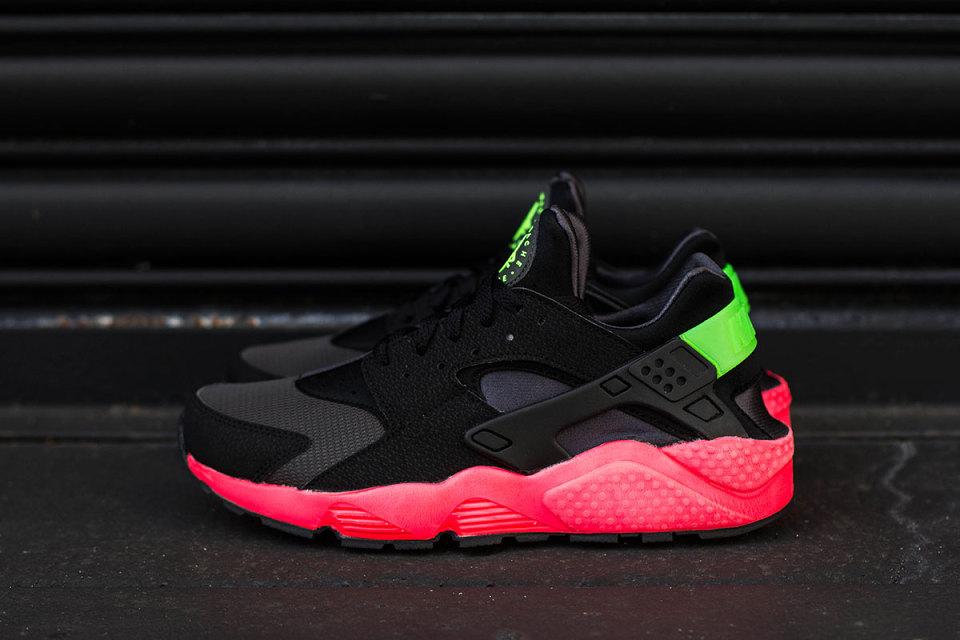 Nike Huarache Rot Schwarz