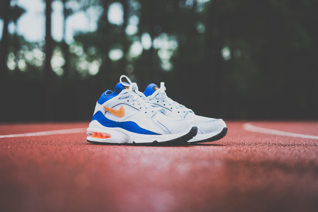 Nike Air Max 93 White Blue Citrus 11