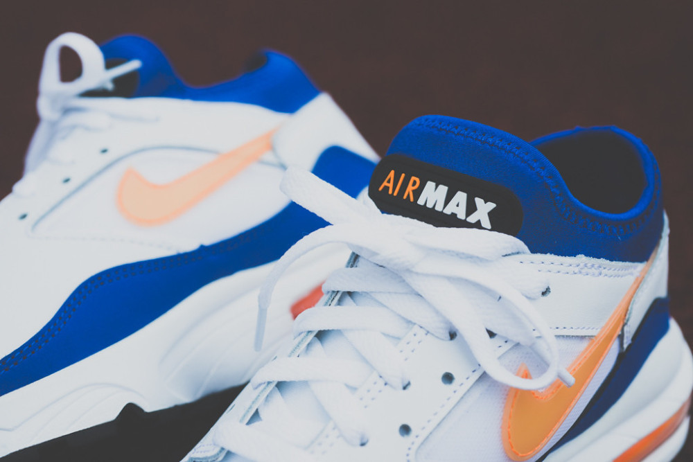 Nike Air Max 93 White Blue Citrus 41 1000x667