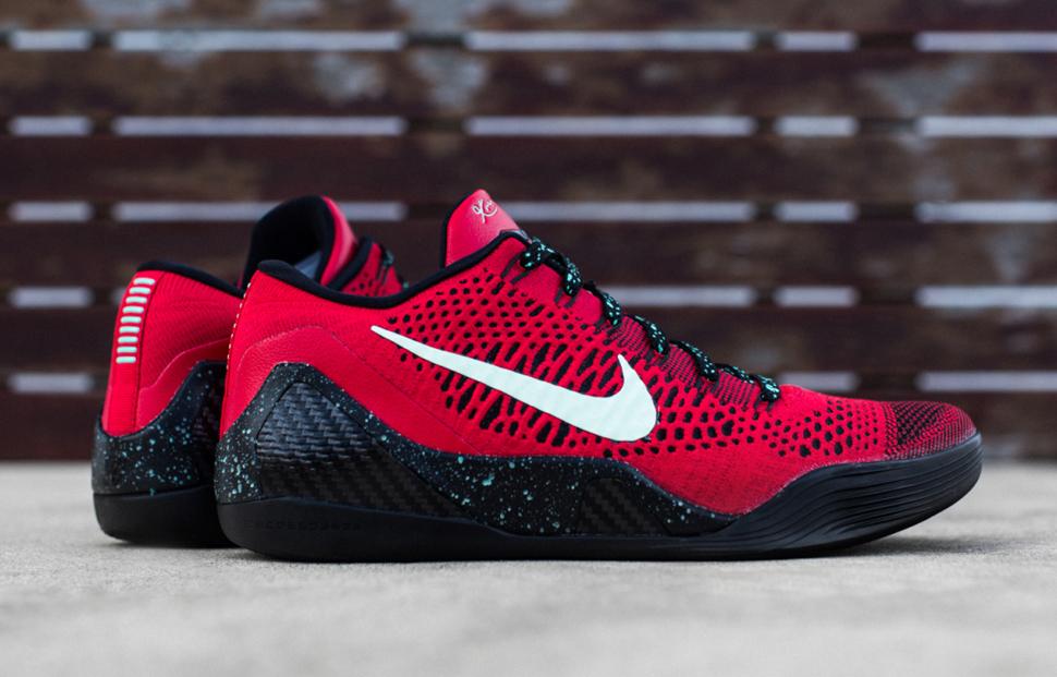 Nike Kobe 9 Elite Low Uni Red Black 1
