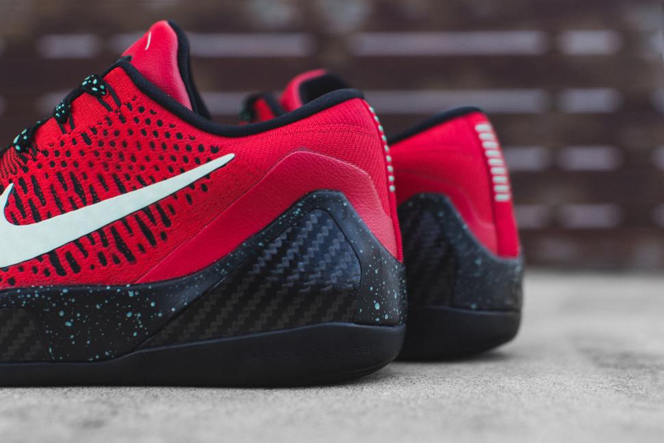 Nike Kobe 9 Elite Low Uni Red Black 3