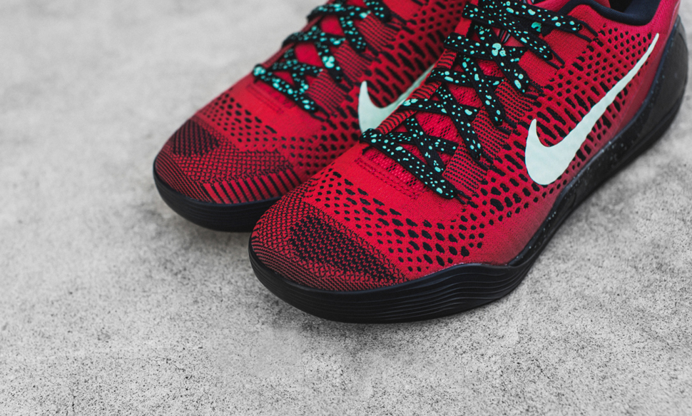 Nike Kobe 9 Elite Low Uni Red Black 4