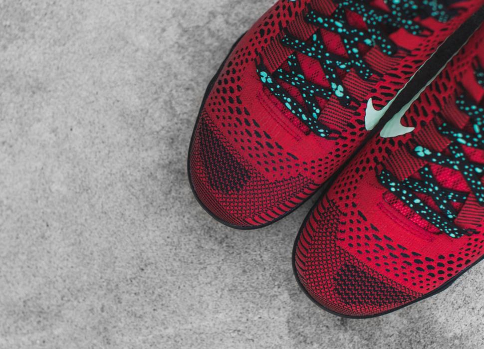 Nike Kobe 9 Elite Low Uni Red Black 5