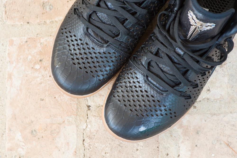 Nike Kobe 9 Mid EXT Black Black 4 1000x667
