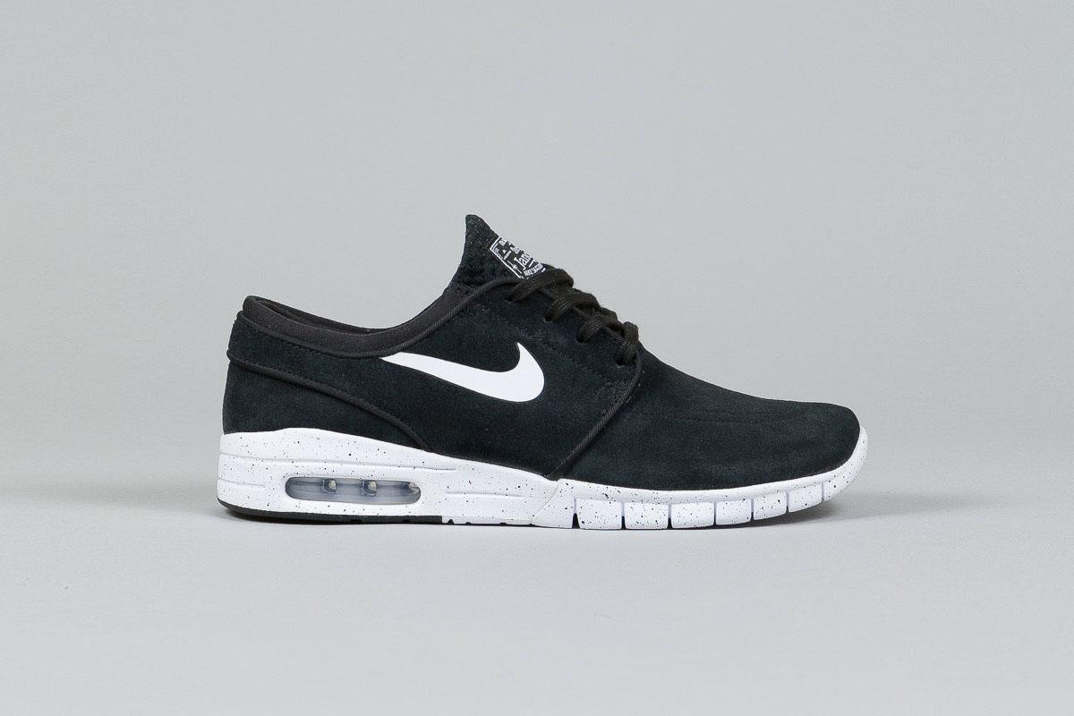 Nike SB Stefan Janoski Max Leather Black 1