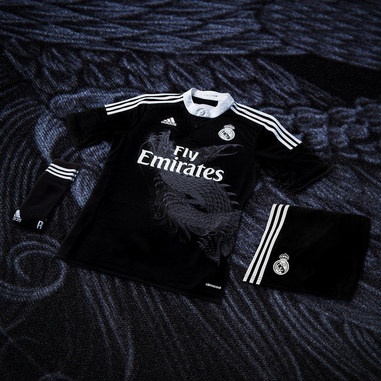 Real Madrid x adidas x Yohji Yamamoto Champions League Trikot 1