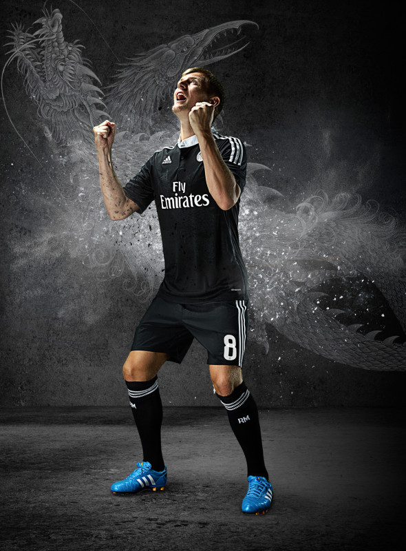 Real Madrid x adidas x Yohji Yamamoto Champions League Trikot 4 590x800