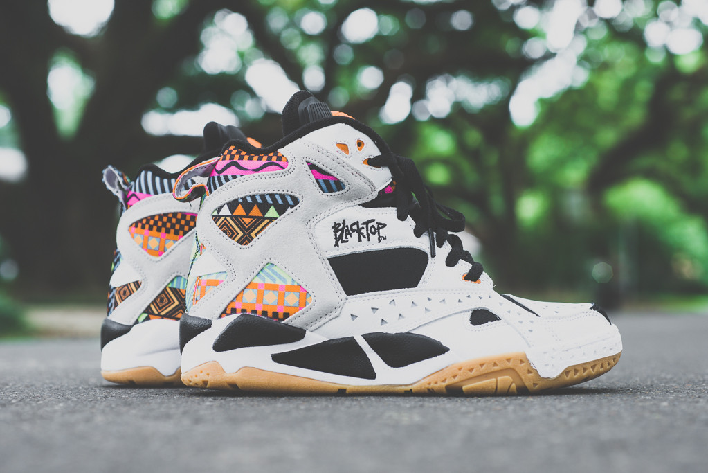 Reebok Blacktop Battleground White Multi 1