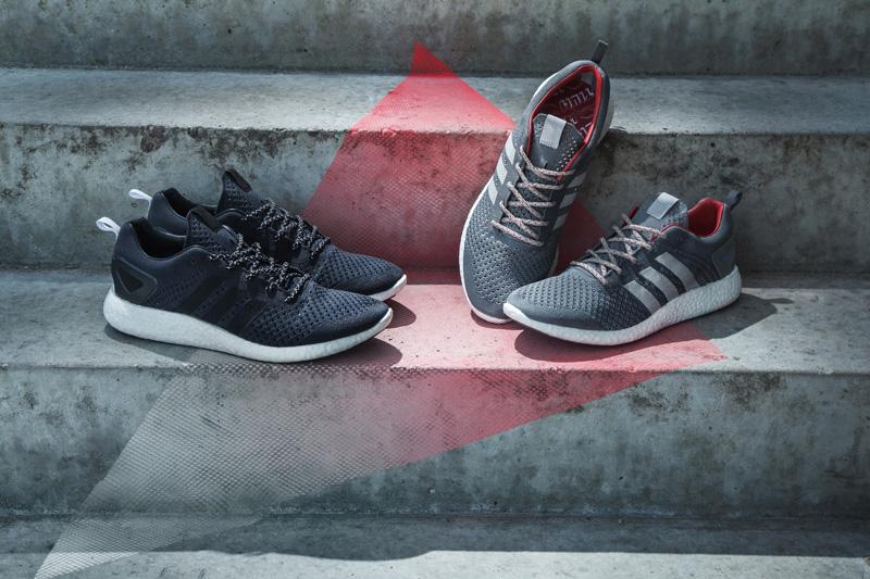 adidas Consortium Primeknit Pure BOOST Black Grey 1