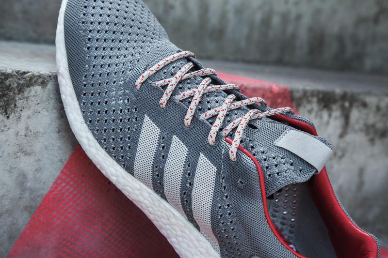 adidas Consortium Primeknit Pure BOOST Black Grey 3
