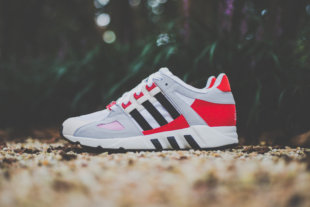 adidas EQT Guidance 93 Grey Red 1