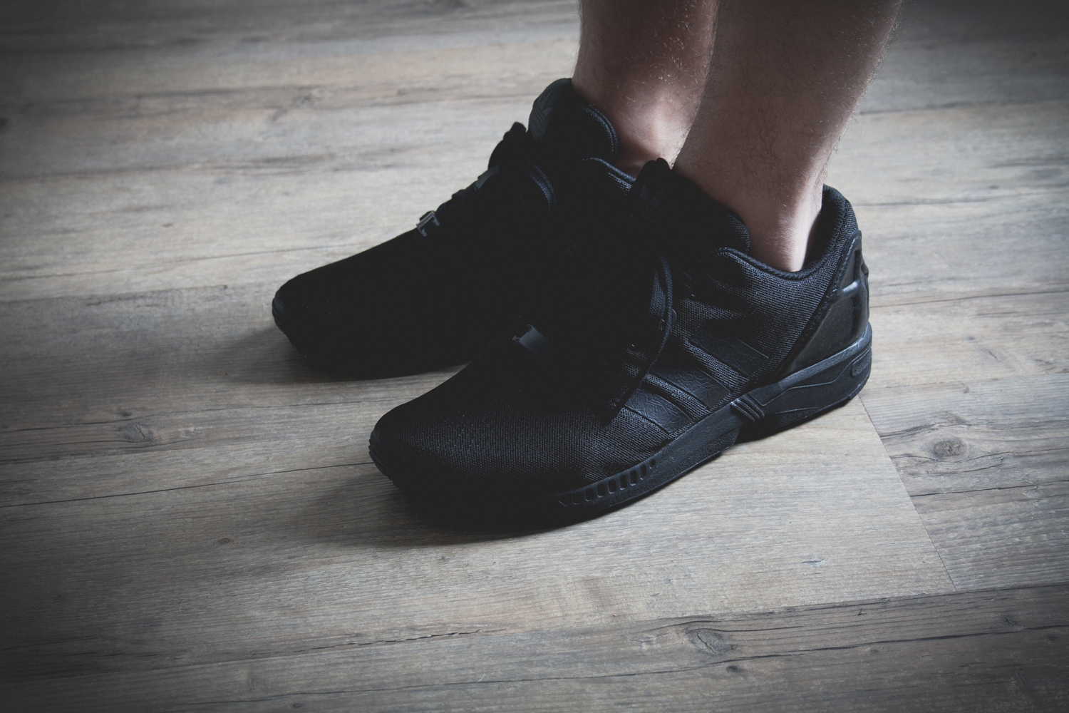 Adidas Zx Flux Triple Black