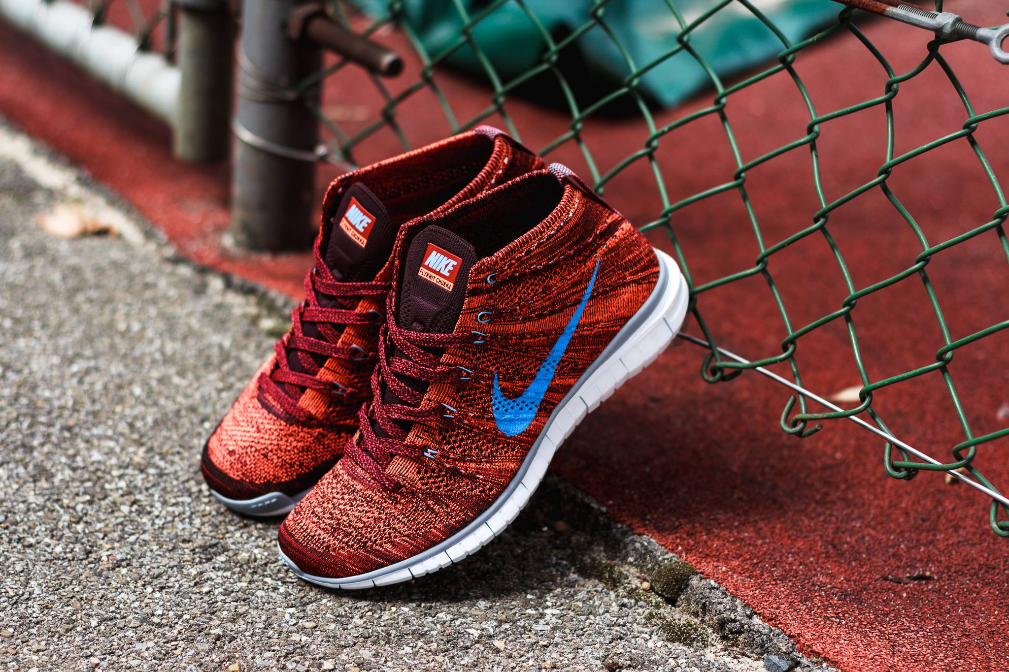 Nike Flyknit Free Chukka Cinnamon Brown 1