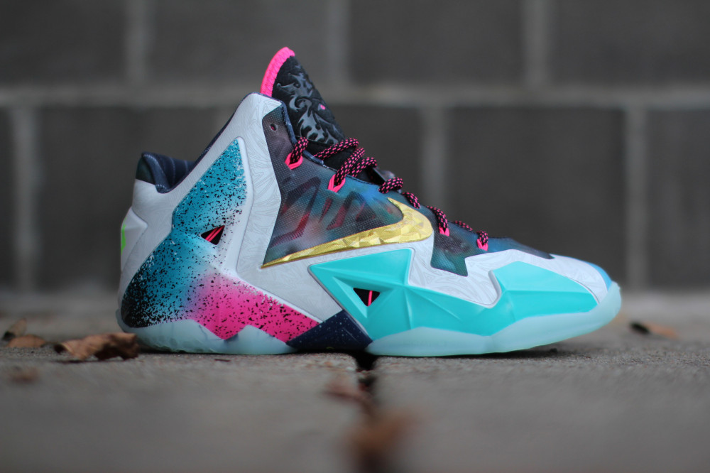 Nike LeBron 11 What the 1 1000x666