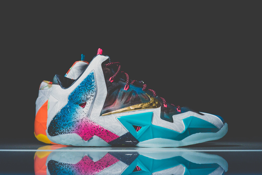 Nike LeBron 11 What the 1