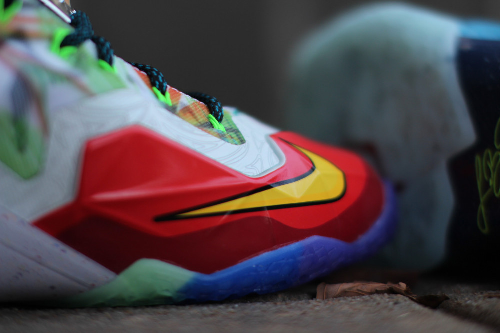 Nike LeBron 11 What the 3 1000x666